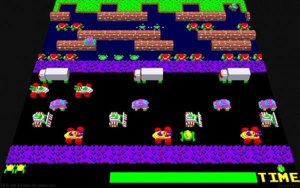 Frogger in 3D