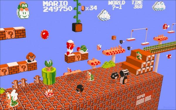 Super Mario Bros. in 3D