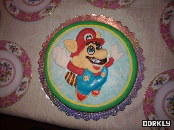 Super Mario Bros 3 Cake