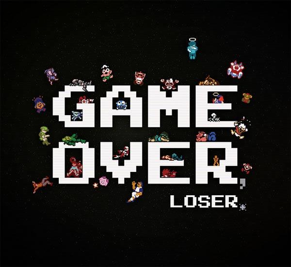 Game Over, Loser - 8-bit deaths