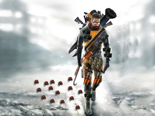 Gordon Freeman is packing some firepower
