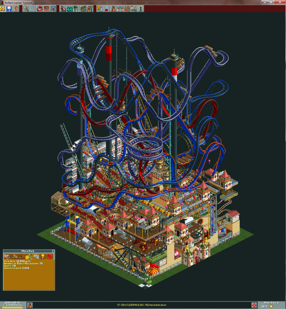 Amazing Roller Coaster Tycoon Park