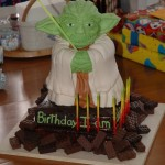 Amazing Yoda Birthday Cake [pic]