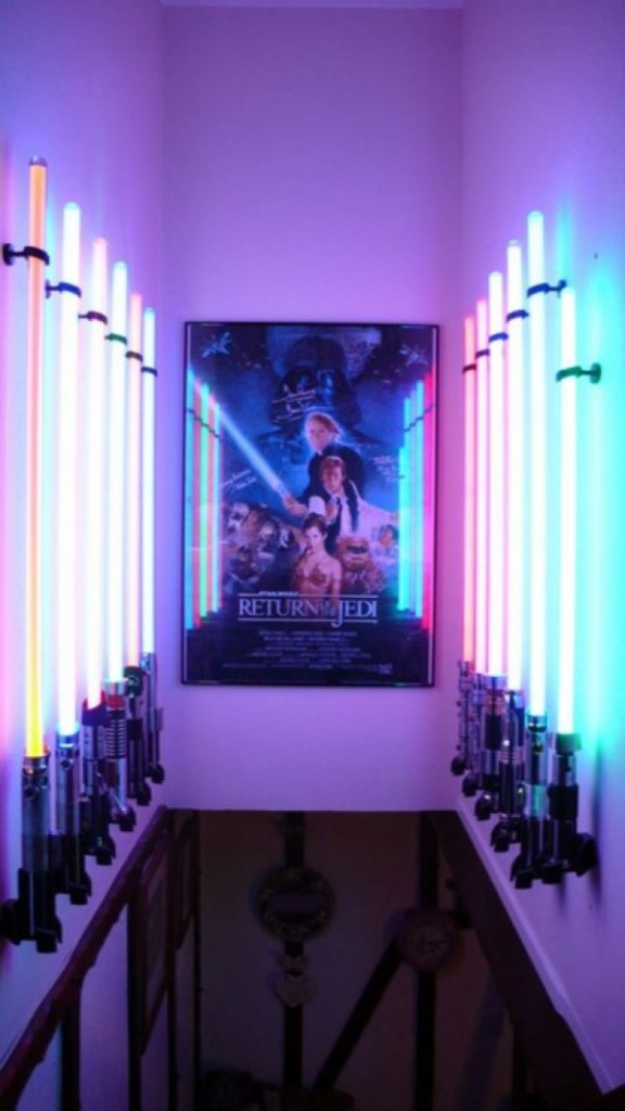 Lightsaber Display Room