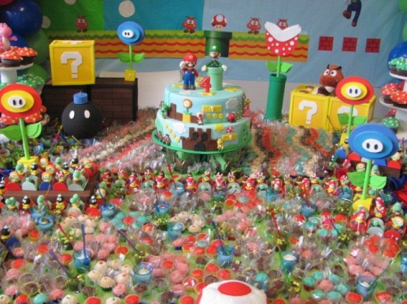 Mario and the Candy Kingdom