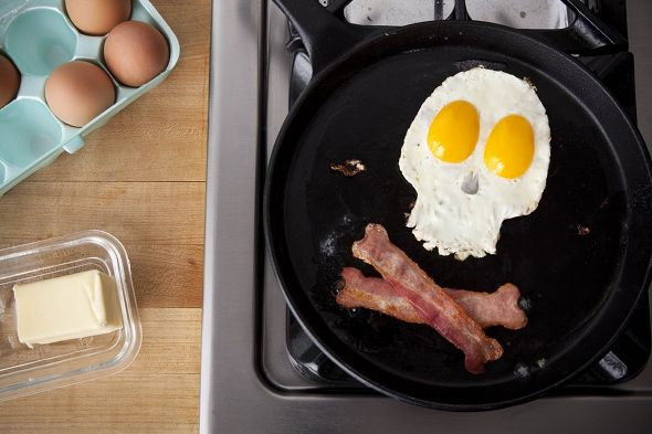 Pirate Eggs and Bacon