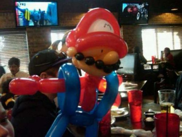 Super Mario Balloon Animal