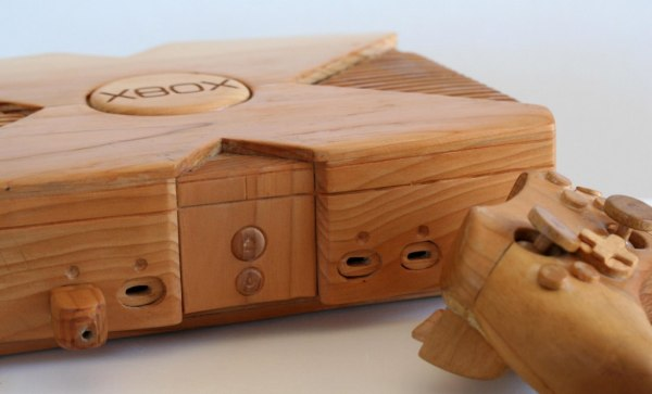 Wooden Xbox and Controller