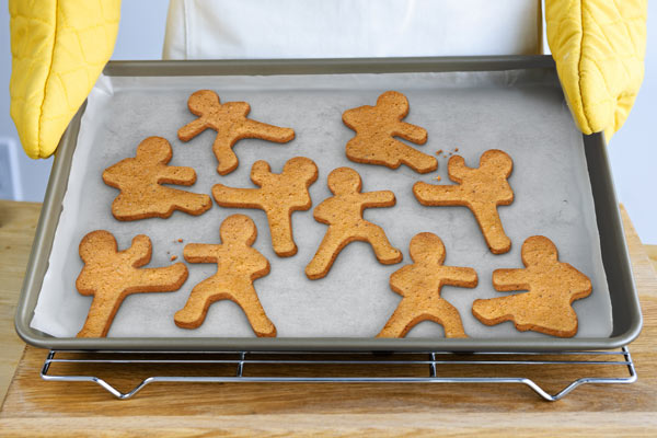 Ninja gingerbread men
