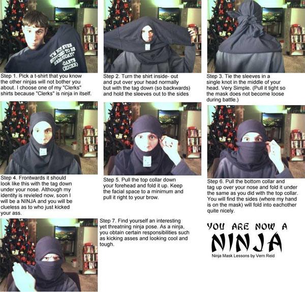 7 Steps to becoming a Ninja