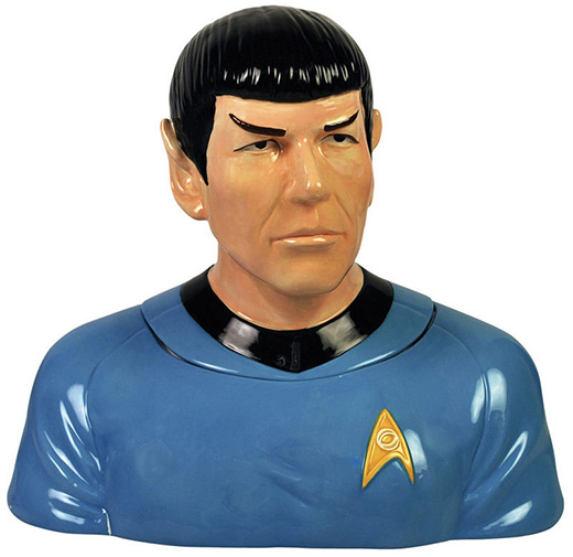 Spock Cookie Jar from StarTrek.com