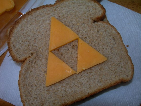 The Triforce Cheese Sandwich