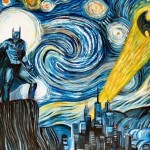 Batman&#039;s Starry Night