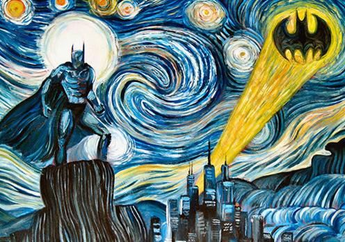 Batman's Starry Night