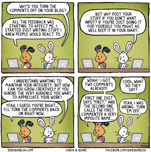 Blog comments cartoon