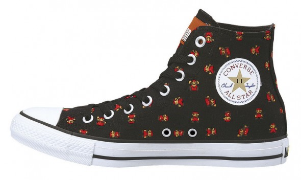 Converse Mario Shoes Black