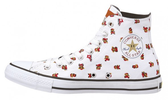 Converse Mario Shoes White