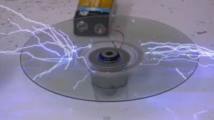 Electricity eraces a CD