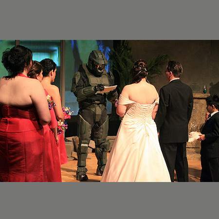 Halo Wedding