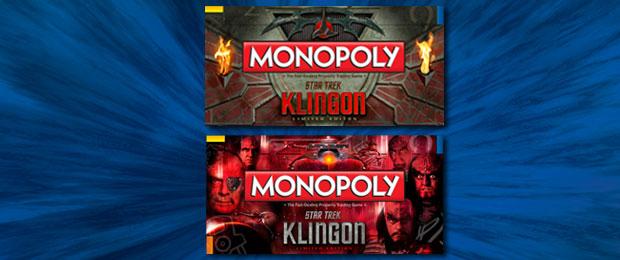 Klingon Monopoly box options