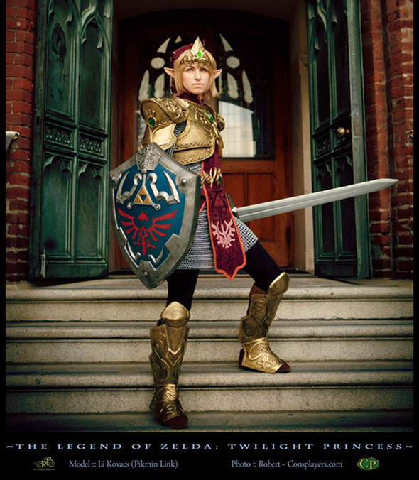 Legend of Zelda Twilight Princess Armor Cosplay