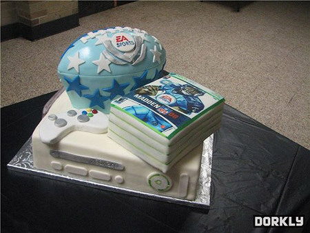 Birthday Cakes Xbox 360 ~ With icing on top xbox birthday cake