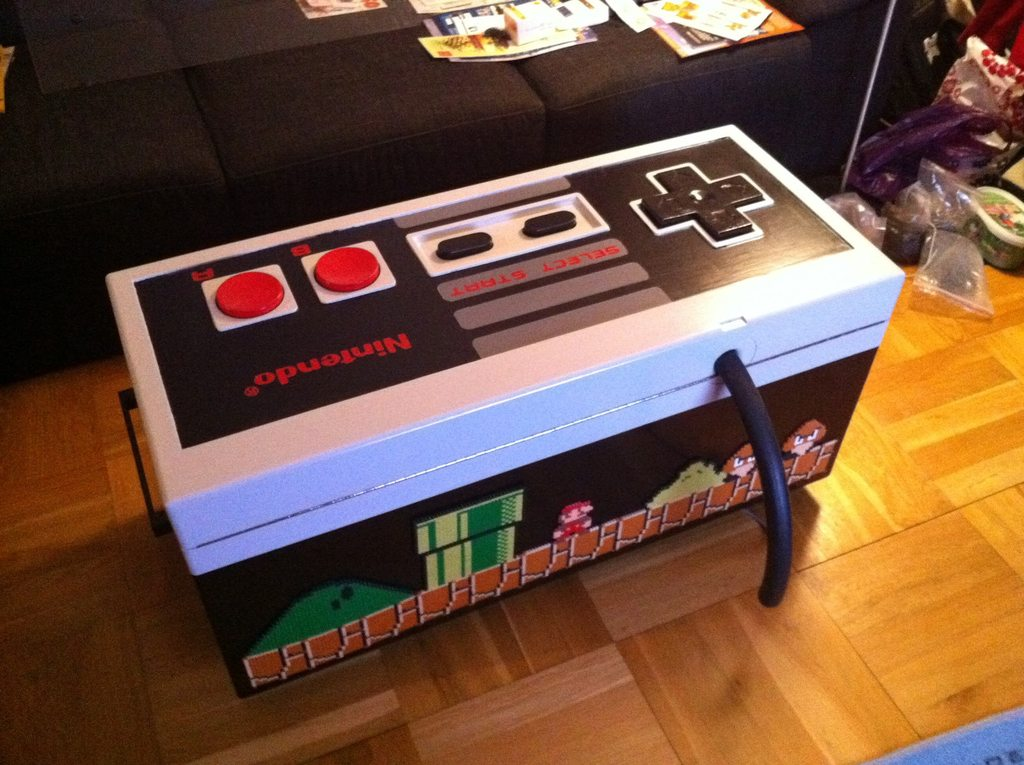 Working Nes Controller Coffee Table Is Amazing Pics