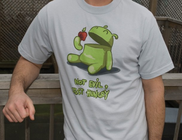 Android Not Evil Just Hungry T-Shirt