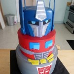 Transformers Optimus Prime Cake [pic]