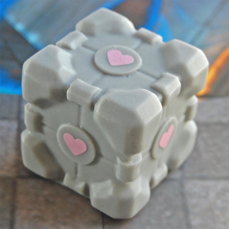 Portal Companion Cube Soap