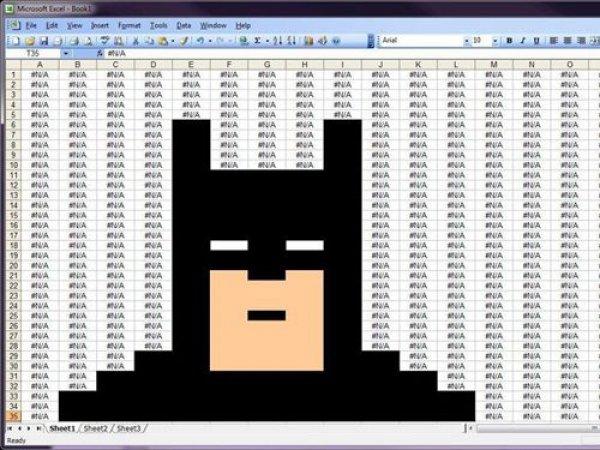 Excel Batman