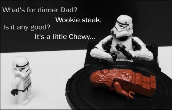 Stormtrooper dinner