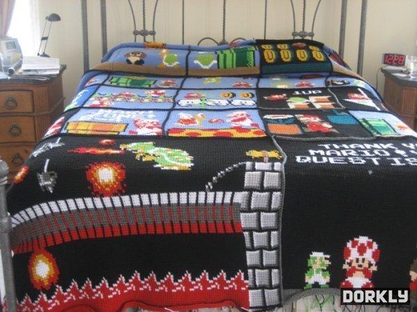 Super Mario Bros. Bed