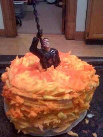 Terminator 2 cake