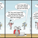 Where do programmers go when they die [comic]