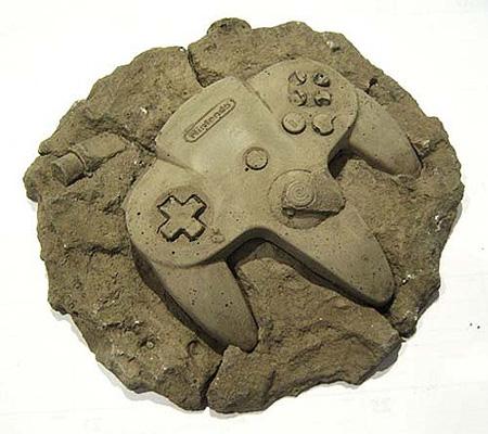Fossilized Nintendo 64 Controller