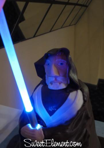 Obi-Wan Kenobi Cake