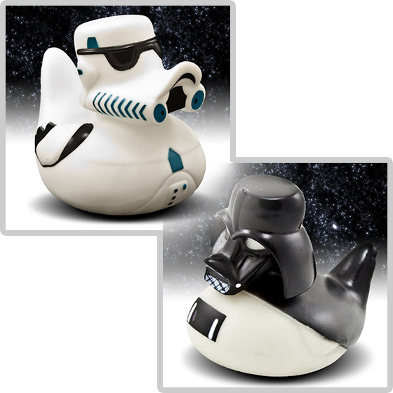 Star Wars Rubber Duckies