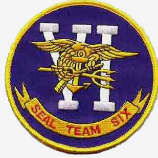 Actual Navy Seals Team Six emblem