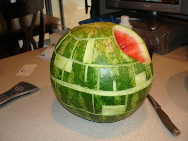 Star Wars Death Star Watermelon