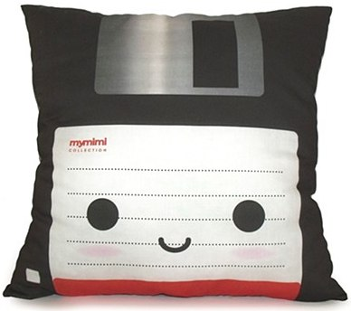 Deluxe Floppy Disk Throw Pillow