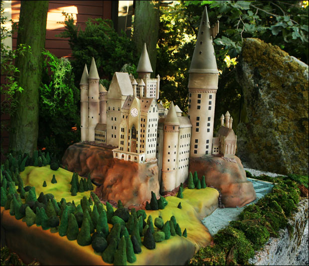 Harry Potter Hogwarts Cake