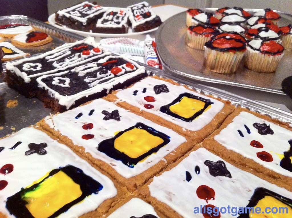 Nintendo baked goods