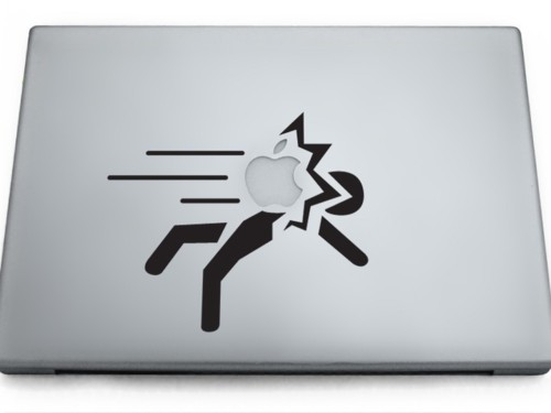 Portal MacBook sticker