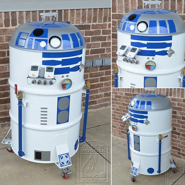Star Wars R2-D2 BBQ Smoker
