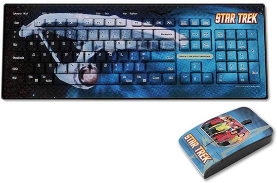 Star Trek Keyboard and Mouse