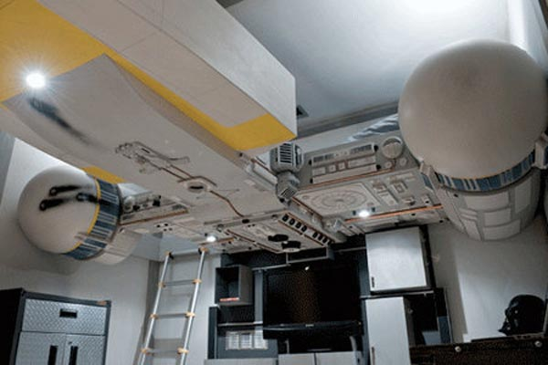 Star Wars Y-Wing Bunk Bed