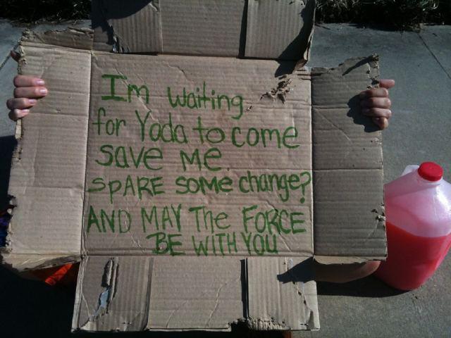 Waiting for Yoda