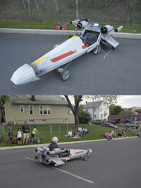 X-Wing Soapbox Derby Car