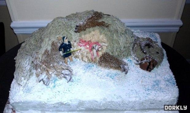 Dead TaunTaun Cake